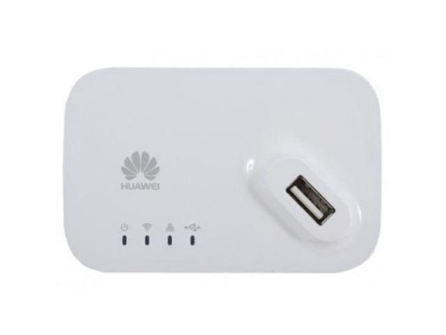 Huawei AF23 4G LTE/3G USB Sharing muelle Router WiFi Hotspot (blanco)