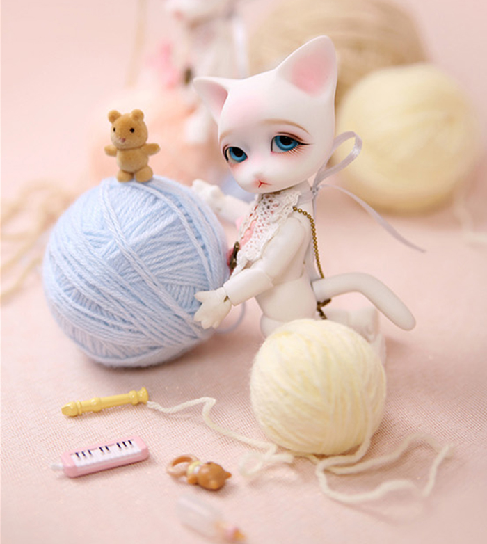BJD 1/8 resin model Ringo Rooney baby doll Palm bjd free eyes free shipping-in Dolls from Toys & Hobbies    1