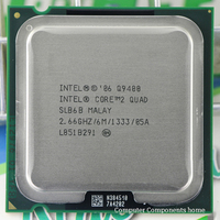 Original Q9400 CPU Processor 2 66Ghz 6M 1333GHz Socket 775 Desktop CPU Free Shipping