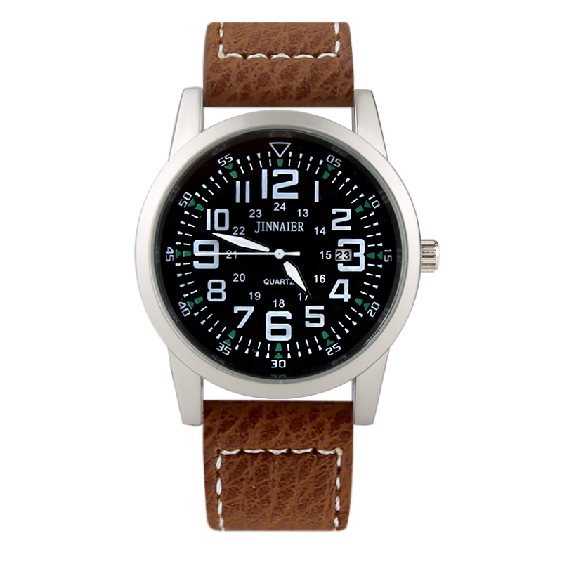 Top Brand Relogio Masculino Quartz Watch Men Luxury Leather Mens Watches Fashion Casual Sport Military Clock Men Wristwatches forsining fashion brand men simple casual automatic mechanical watches mens leather band creative wristwatches relogio masculino