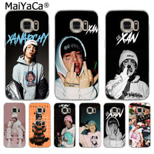 MaiYaCa Lil Xan XANARCHY Printing Soft Phone Case for Samsung S5 S6 S7 Edge S8 Plus S6 Edge Plus S9 S9 Plus(China)