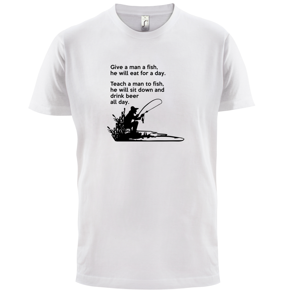 FISHING DO NOT DISTURB OR WAIT YOU HAVE BEER Unisex Adult T-Shirt Tee Top