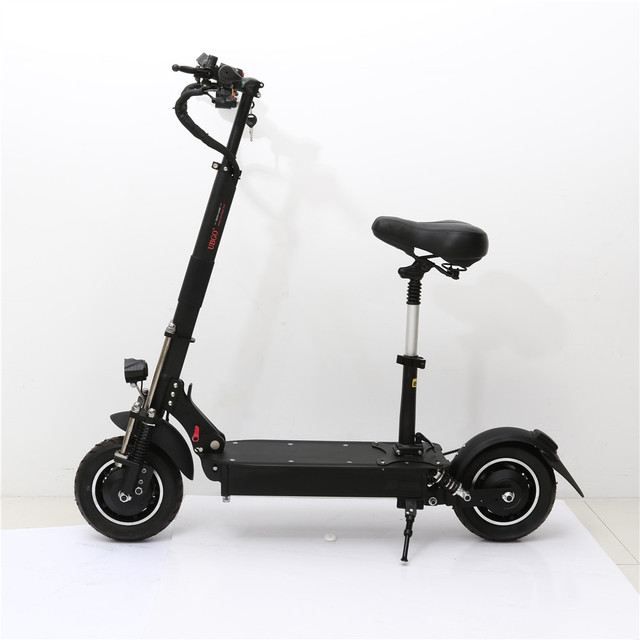 UBGO 1005 60V 52V Double Drive 2000W Motor Powerful Electric Scooter 10inch E
