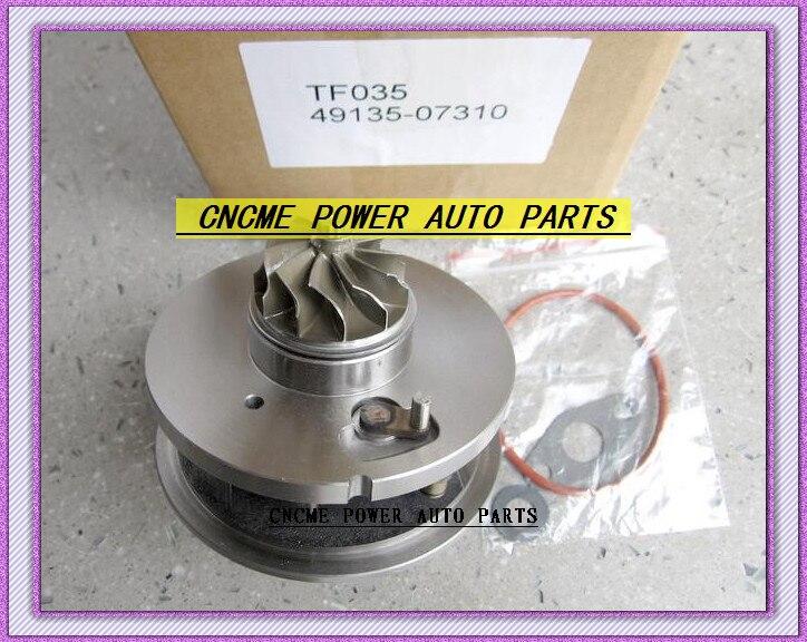 TURBO Cartridge CHRA Turbocharger TF035 28231-27810 49135-07310 49135-07312 For HYUNDAI Santa Fe 2005-09 D4EB 2.2L CRDi 150HP