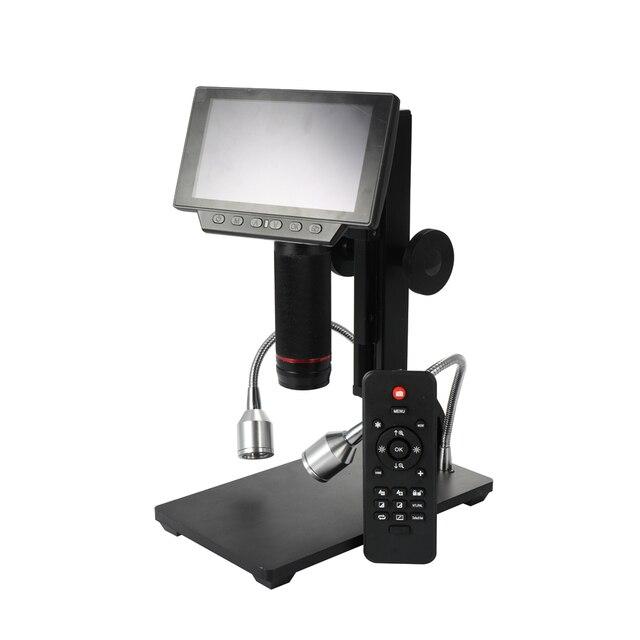Andonstar ADSM302 Microscópios Industriais Ferramentas de Manutenção Display Digital Lupa Microscópio Eletrônico com Controle Remoto