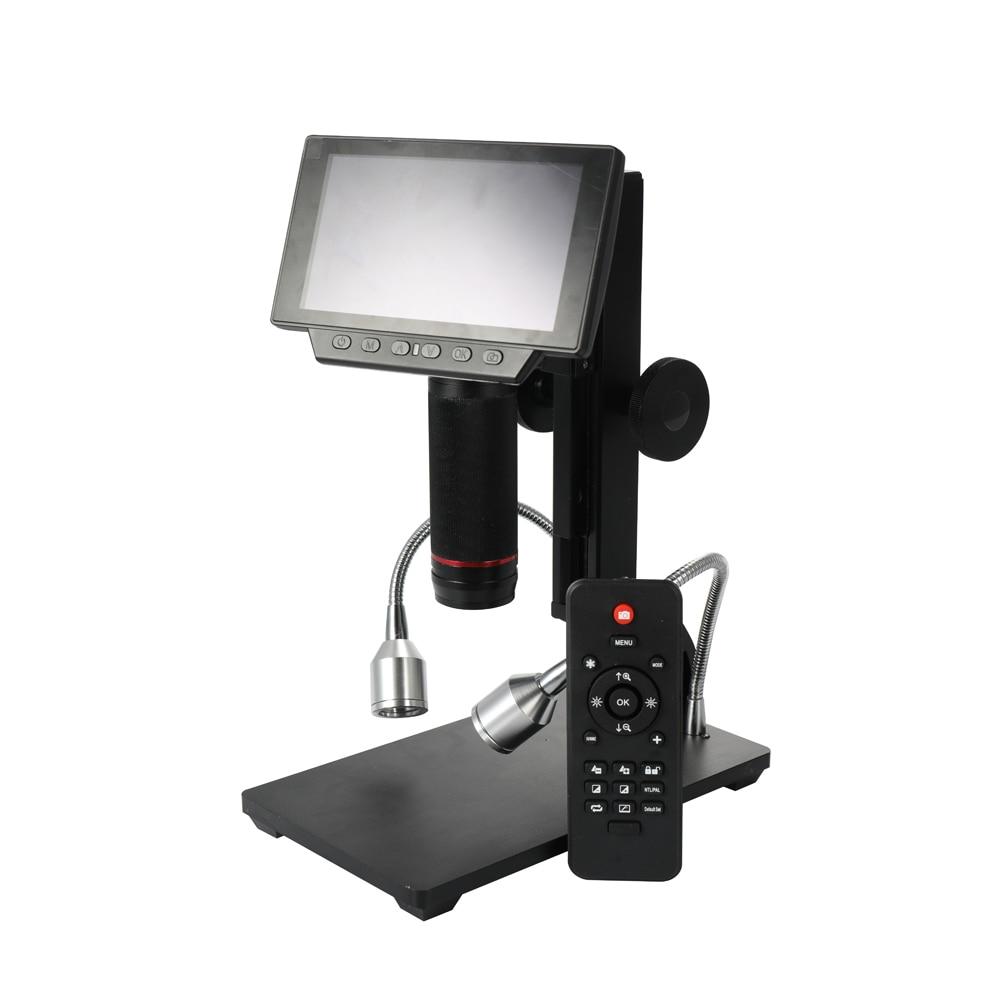 Andonstar ADSM302 Microscopes Maintenance Industrielle Affichage Numérique Électronique Microscope Loupe avec Télécommande Outils