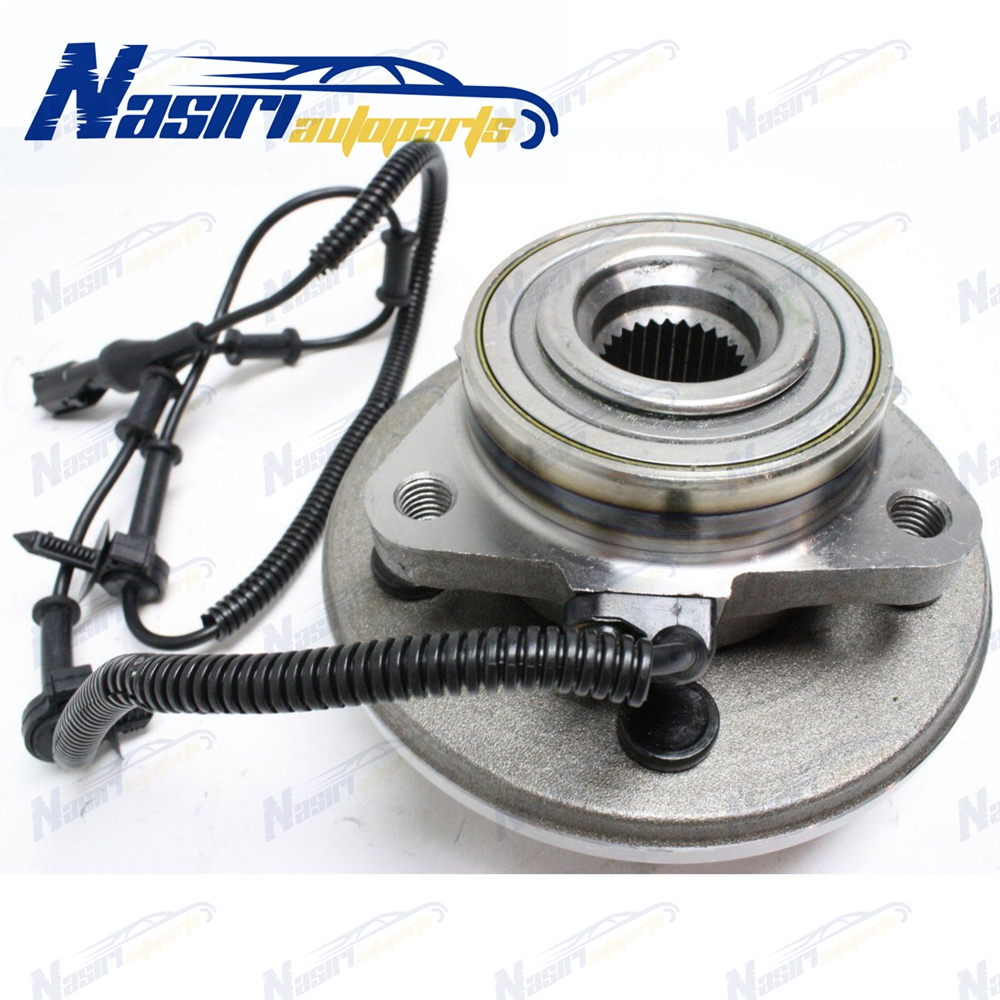 Brand New Front Wheel Hub /& Bearing Assembly for Ford Mercury Lincoln w// ABS