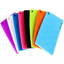 ocube Extremely Slim Rubber Silicon Protecting Again Silicone Case Cowl For Lenovo Tab 2 Tab2 A7-20 A7-20F A7 20F 7″ Pill