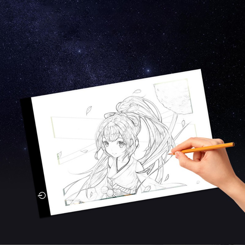 Digital Graphic Tablet A4 LED Artist Thin Art Stencil Drawing Board Light Box Tracing Writing Tablet Pad Painting Teaching ToolsDigital Graphic Tablet A4 LED Artist Thin Art Stencil Drawing Board Light Box Tracing Writing Tablet Pad Painting Teaching Tools