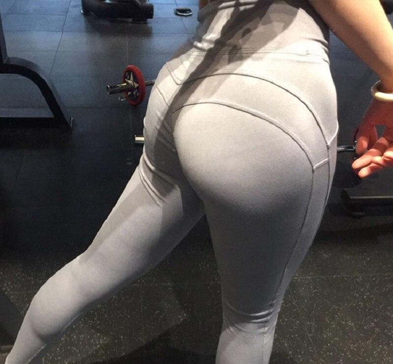 01bbda78e7972 Yoga Pants Sport Leggings Women Sport Fitness V Shape Yoga Legging Push Up  Leggings Pants Female Running Seamless Gym Leggings