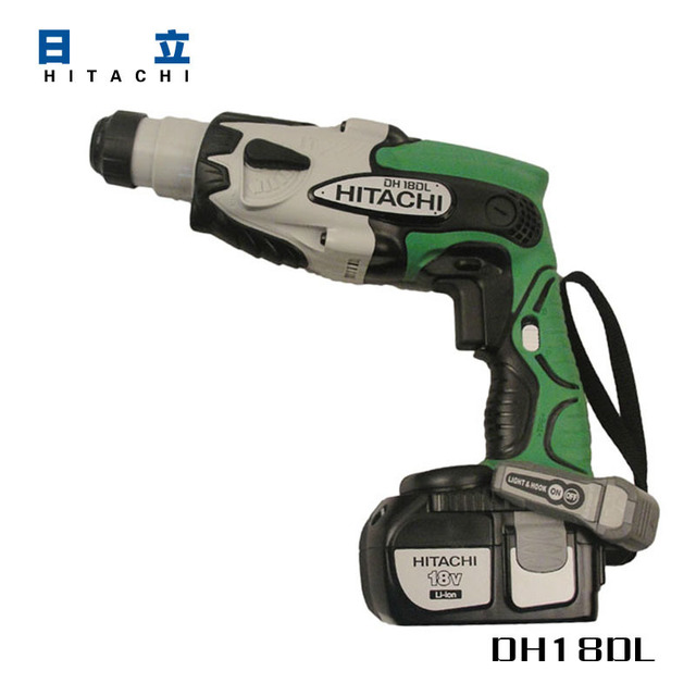 hitachi 18v lithium cordless hammer dh18dsl reverse variable speed rh aliexpress com Hitachi Tools Hitachi Cordless Drill Kit