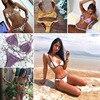 Cssayavi Swimwear Women Bikini Set 2017 Swimsuit Flounce Bikinis Print Maillot De Bain Femme Patchwork Bathing
