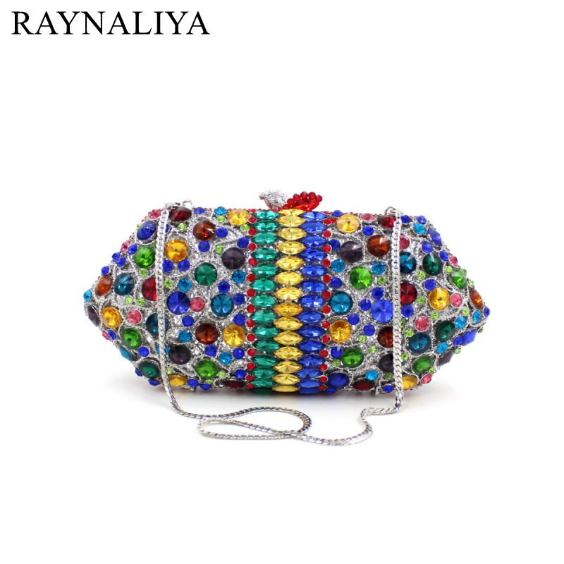2017 New Shoulder Bag Woman Ladies High-end Fashion Handbag Diamonds Evening Bags Day Clutches Women Minaudiere Smyzh-f0067 new fashion women minaudiere fashion evening bags ladies wedding party floral clutch bag crystal diamonds purses smyzh e0122