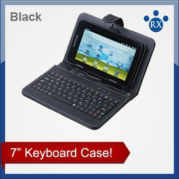 USB 78 keys Keyboard Cover Case Bag for 7 inch Tablet PC / MID / PDA , Enjoy Digital Life! Free Shipping + Drop Shipping!