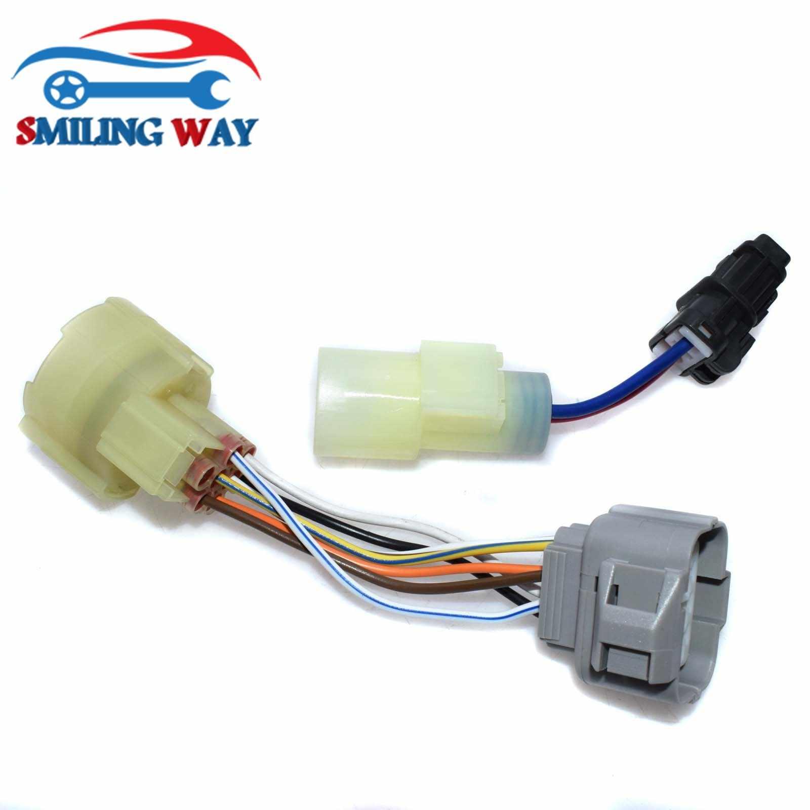 obd0 to obd1 ecu distributor adaptor connector wire harness cable for honda crx civic prelude acura  [ 1600 x 1600 Pixel ]