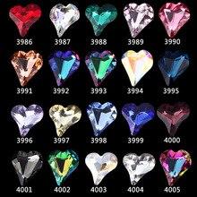 10 шт Нейл-арт в форме сердца ювелирные изделия с бриллиантами 8X9 мм с заостренным дном в форме большой чехол-накладка с рисунком бриллиантов персика сердца по сниженным ценам! алмазное украшение ногтей ювелирное изделие