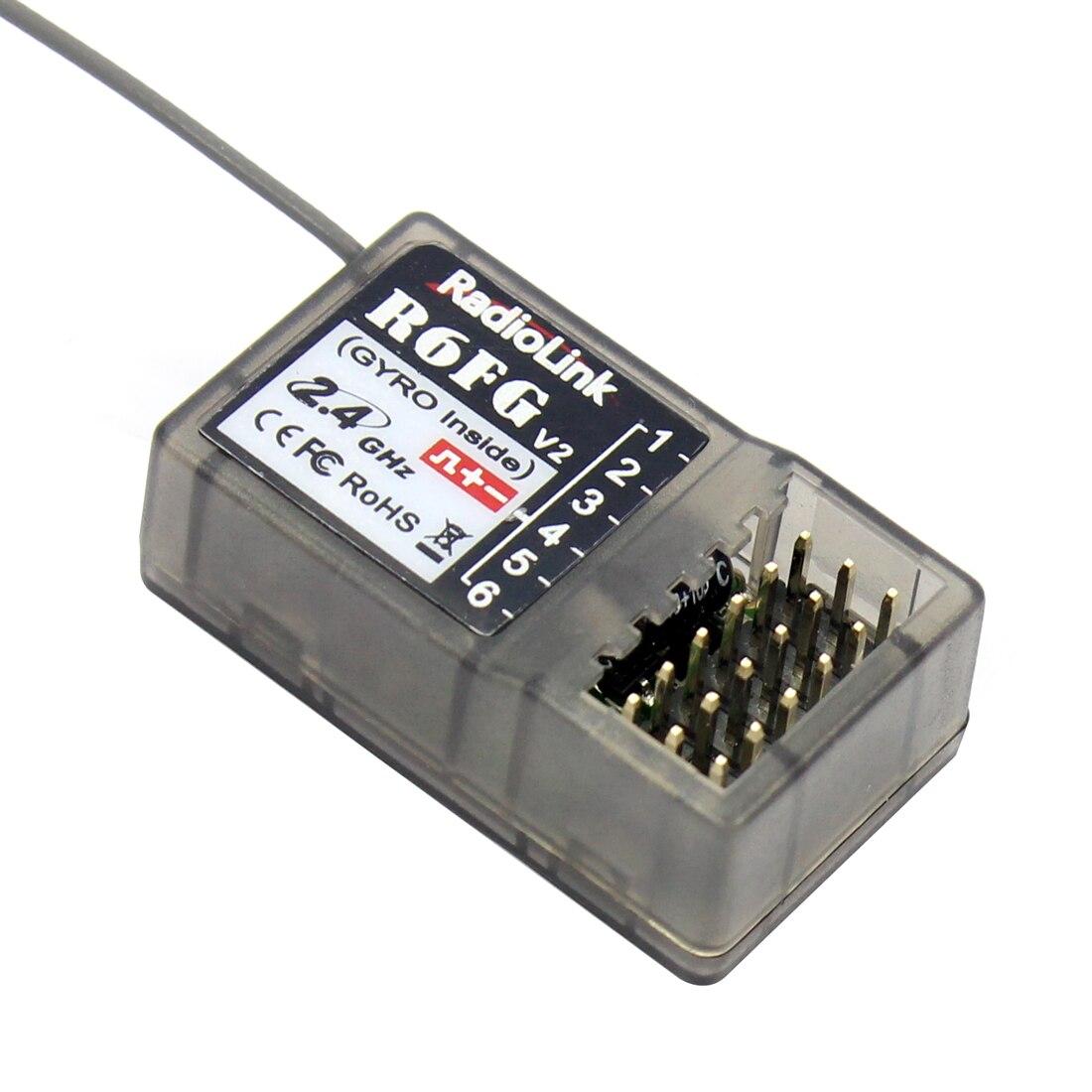 Radiolink FHSS R6FG 2,4g 6 Kanal Radio Control System Empfänger RX für RC4GS RC3S T8FB Sender F21425