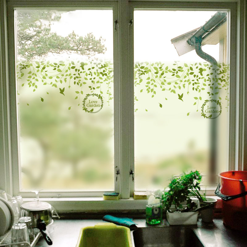 Free Size Custom Make Glass Window Film Decoration Films For