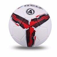 ที่มีคุณภาพสูงอย่างเป็นทางการขนาด4มาตรฐานPUลูกฟุตบอลการฝึกอบรมฟุตบอลลูกการฝึกอบรมกับของ...