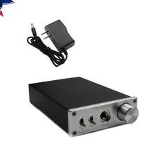 HiFi Amp USB 24Bit 192Khz Fiber Coaxial Headphone Audio Amplifier DAC Decoder Silver DAC-X6 USA Inventory