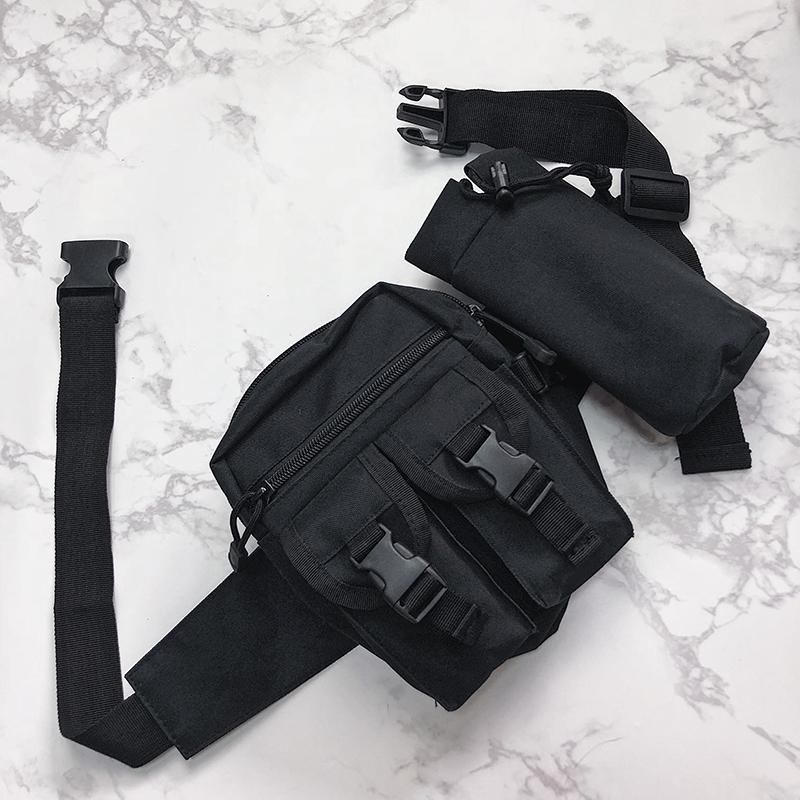 3262b31cf Fashion Streetwear Hip Hop Chest Bag for Women Men Crossbody Bags Cool  Multi Packs Men Fanny Waist Packs Function Small Bum BagUSD 12.81/piece
