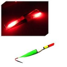 2017 New Hot Sale 3PCS Hotsle Night Red Flashing LED Light Fish Fishing Floats Bobber