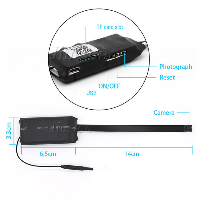 H.264 Ultra Mini WIFI Flexible Camera 1080P Full HD Video Audio Recorder Motion Detection Camcorder IP P2P Remote Micro Cam