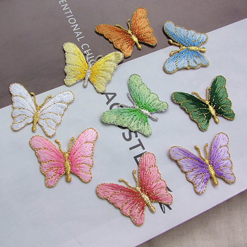 Buy free ship iron on clothing fabric for Applique decoration