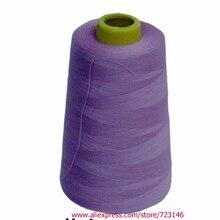 4000 м/5000 ярдов 20 S/2 швейная нить для дома 402 полиэстер швейная машина конусная нить для JUKI JANOME SINGER BROTER BERNINA ELNA
