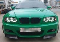 2000 2006 E46 Carbon Fiber Car Front Lip Splitters Aprons Cupwings Flaps Flags For BMW 3 Series E46 M3 Coupe