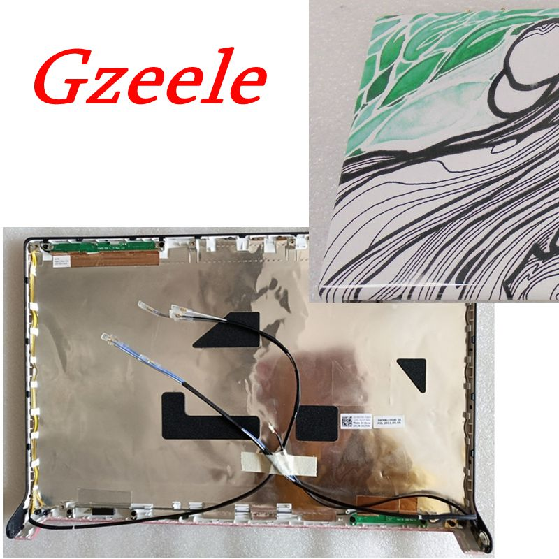 GZEELE new Laptop LCD Lid Top Cover FOR <font><b>DELL</b></font> For <font><b>Dell</b></font> Studio 1555 1557 <font><b>1558</b></font> LCD Top Back Cover Lid 0N845N N845N image