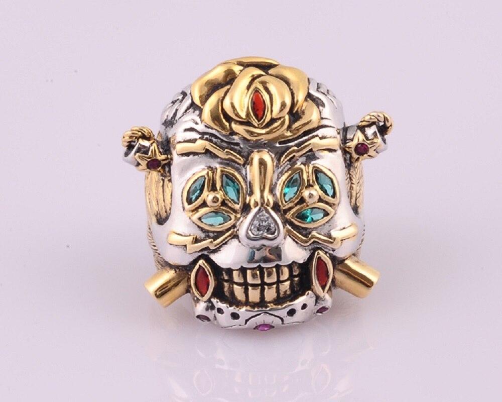 Sylvester Stallone Skull Ring