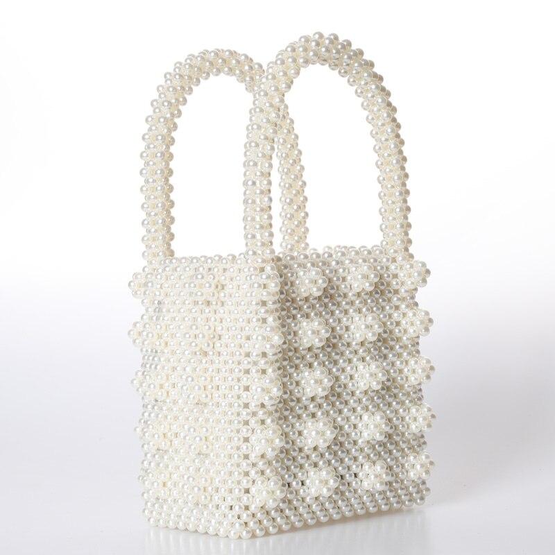 Mode Perle sac dames sac à main perlé Sac Femme Sac À Main À La Main Sac De Soirée De Luxe Sacs À Main sacs pour femmes 2018