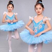 313785fe5e Children Ballet Dress Costumes Suits Kids Swan Lake Pattern Ballerina  Clothes Dance Wear Tutus Girls Professional. Ver Oferta. Vestidos de ...