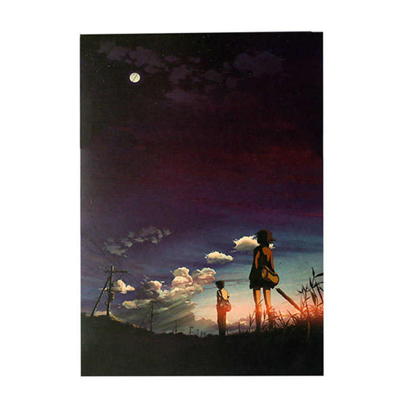 Anime Speed 5cm Kraft Paper Retro Poster - Home Decor Japanese Wall Scroll Poster Centimeters