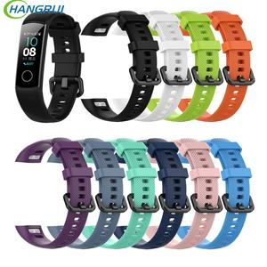 Wrist-Strap Honor-Band Huawei Smart-Sport Silicone Version-Film for Standard 4