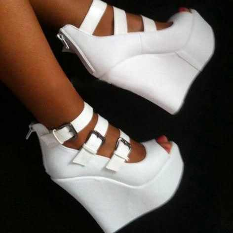 Compare Prices on White Wedge Heels- Online Shopping/Buy Low Price ...