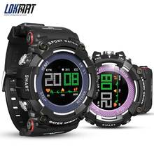 LOKMAT Smartwatch Bluetooth IP68 Waterproof Wearable Device Heart Rate Monitor Color Display Smart Watch For Android