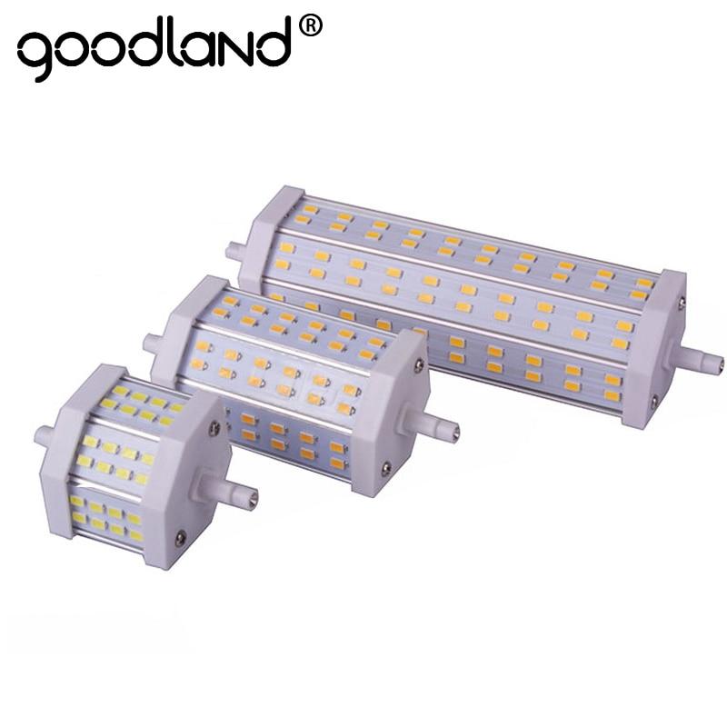 Dimmable  R7S LED Lamp 10W 15W 25W SMD5730 LED R7S 78mm J78 118mm J118 189mm J189  LED Light Bulb Replace Halogen Floodlight игровые фигурки schleich игровая фигурка медведь гризли
