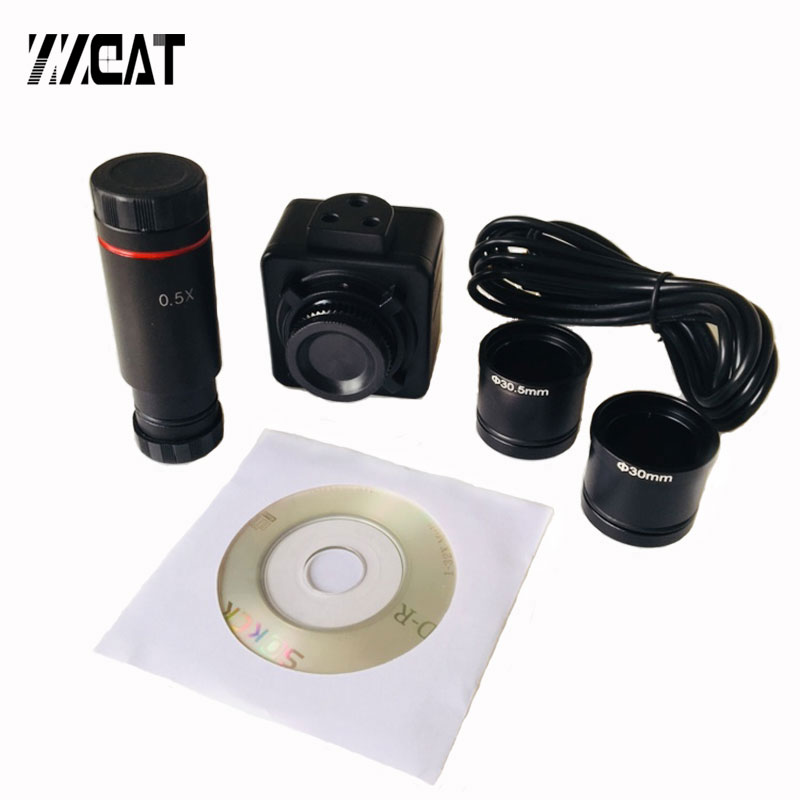 5MP USB2.0 Cmos Microscope Digital Electronic Eyepice Camera Video Industrial Camera For Stereo Microscope Image Capture