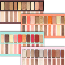 NOVO Eye Makeup Shadow Palette Naked Shimmer Matte Eyeshadow Palette With Makeup Brush Professional Cosmetics 10 Colors Per Set