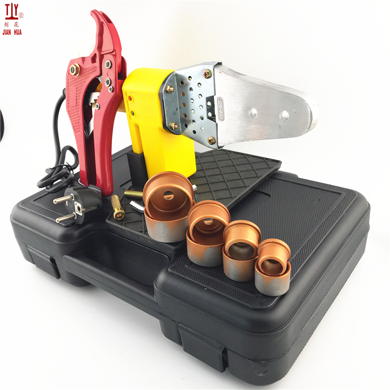 1 Set 220V 600W Tube Welding Machine PPR PE PP Pipe Welding For Plastic Pipes