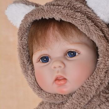 Boneca reborn bebe dolls toys 22inch 55cm silicone reborn baby dolls alive newborn girl dolls bebe realistic reborn original