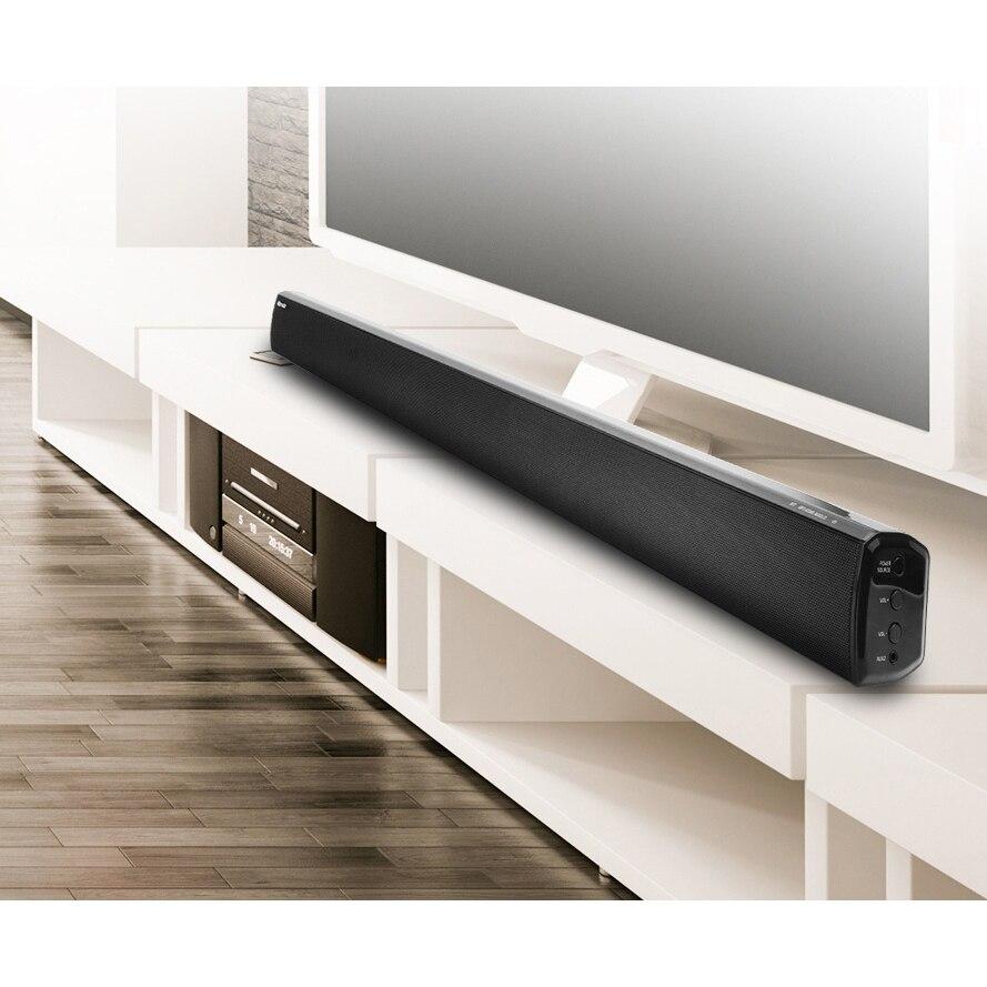 LONPOO TV Soundbar Bluetooth Lautsprecher 40 watt Tiefe Bass ...