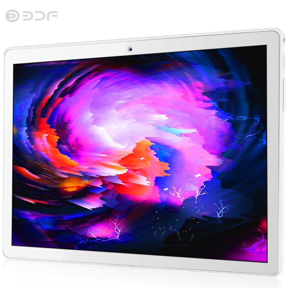 BDF nouveau 10 pouces Android tablette Quad Core Bluetooth WIFI Sim 3G téléphone appel tablettes mobiles 4G RAM 32G ROM tablette PC