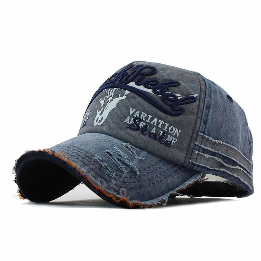c88fc51288cc56 Men Baseball Cap Denim Fashion Star Embroidered Sun Hat Snapback Outdoor Hip  Hop Streetwear Women Caps