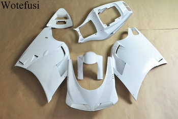 Wotefusi ABS Injection Mold Unpainted Bodywork Fairing For Ducati 748 916 996 1994-2002 [CK1043]