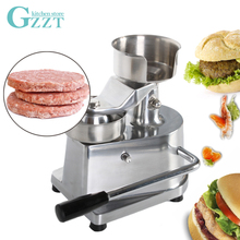 GZZT Hamburger Press Maker Manual Burger Patty Meat Press Machine Diametre 130mm