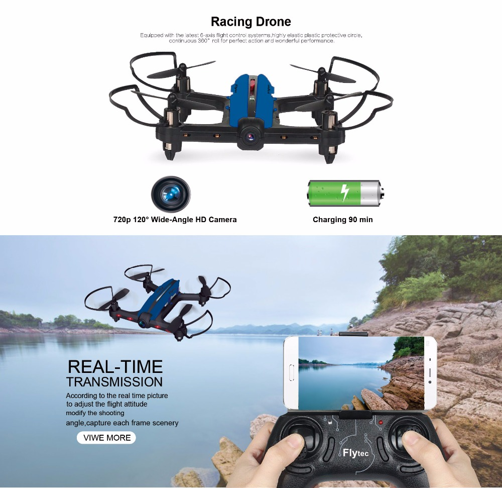 T18 WIFI FPV MINI RACING BEGINNER RC DRONE RTF-2