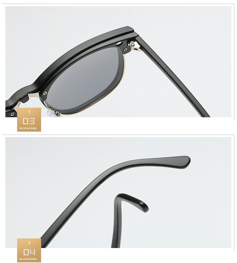 8a111a767c Reven jate 2218 plástico polarizadas Gafas de sol Marcos con ...